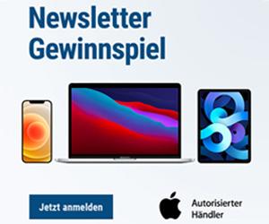 Apple Newsletter Gewinnspiel